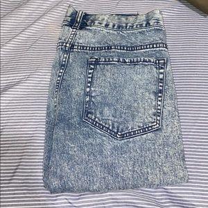 21men Washed Skinny Jeans